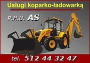 Koparko-ładowarka Ełk