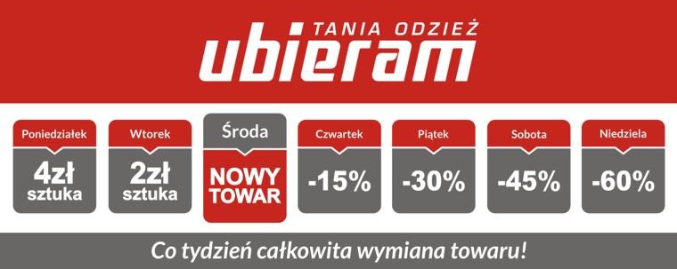 ff82b466d3 Tania odzież Ubieram - nowy sklep w Ełku - infoSerwis Ełk